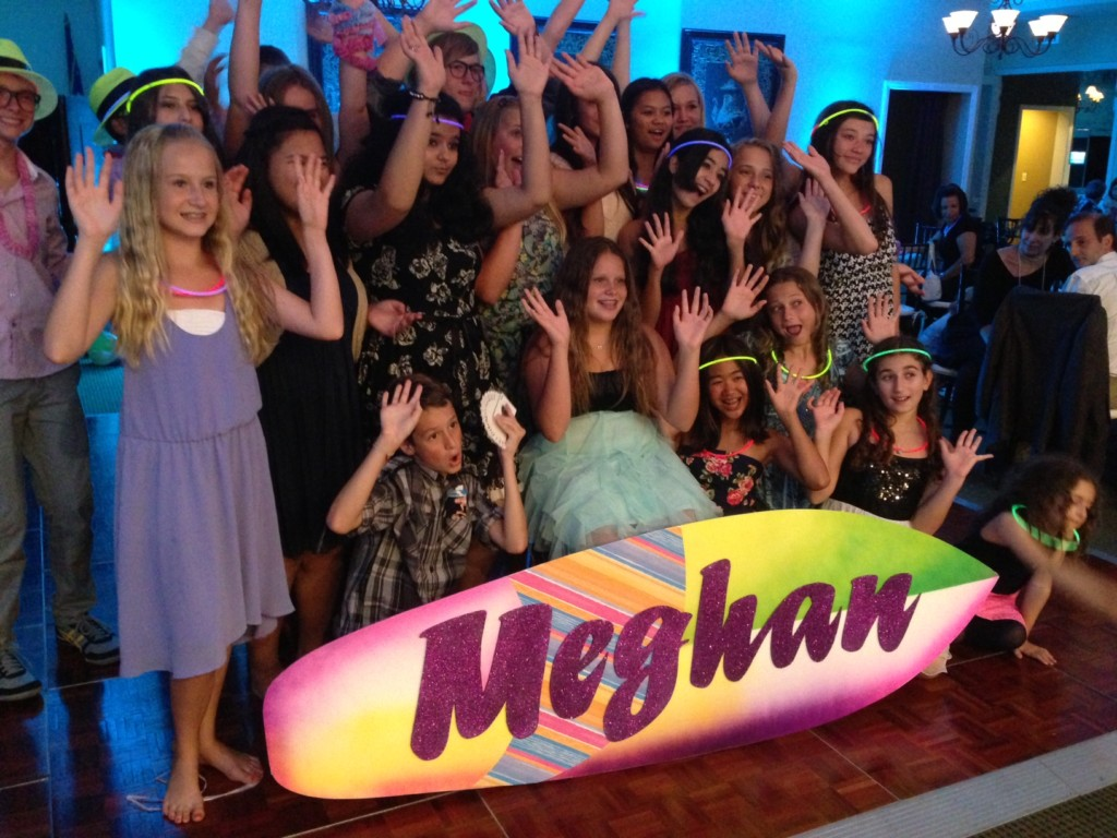 Meghan Mitzvah Friends