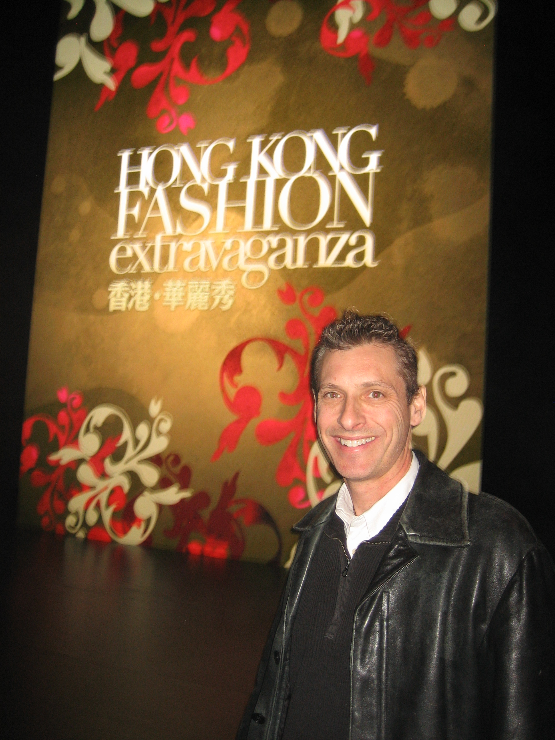 Scott visits Hong Kong Fashion Show
