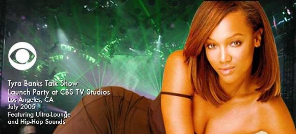 Scott Topper DJs Tyra Banks Talk Show