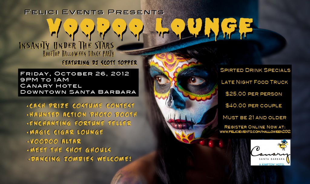 Voodoo Themed Halloween Party