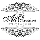 Revised Logo from All Occasions Event Planning for Wedding Celebrations Website