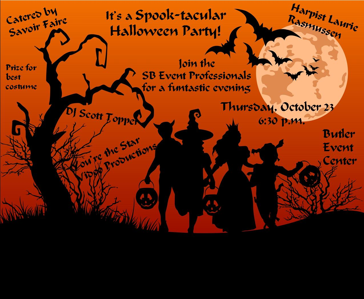 Spook-tacular Special Event Industry Halloween Party this Thursday ...
